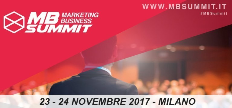 marketing business summit 2017 sconto online